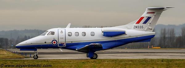 ZM335 EMB Phenon 100 RAF @ Glasgow (EGPF)
