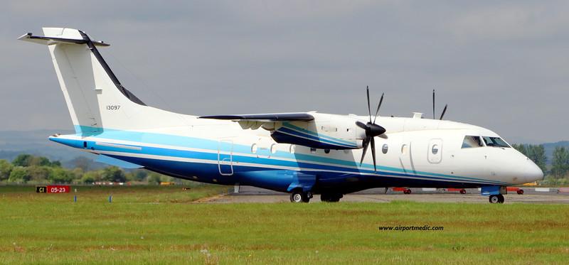 11-3097 Dornier 328-100 C-146A USAF @ Glasgow (EGPF)