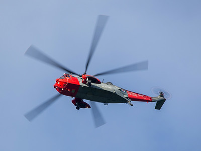 XZ578 Sea King, Royal Navy