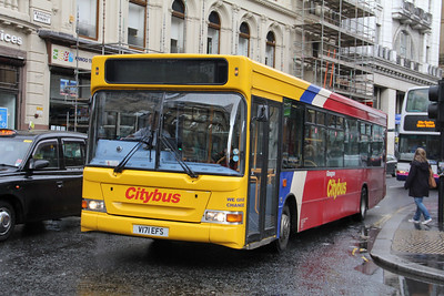 Glasgow Citybus V171EFS Union St Glas Sep 11