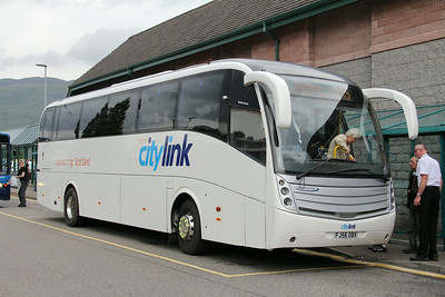 Glasgow Citybus FJ56OBX An Aird Fort William 2 Jul 14