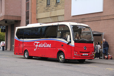 Fairline Coaches Glasgow F16LNE Falcon Square Inverness Sep 18