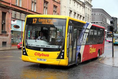 Glasgow Citybus YJ06LDU Renfield St Glas Sep 11