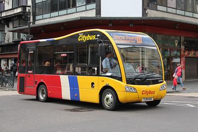 Glasgow Citybus YJ15AXU Argyle St Glas Jun 15