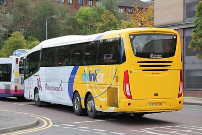 Glasgow Citybus YT13YUB Killermont St Glas Oct 13