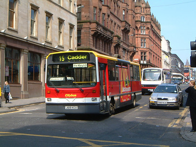 Glasgow Citybus J619KCU Renfield St , Glas Aug 02