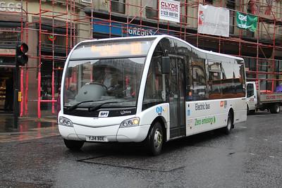 Glasgow Citybus YJ14BDE Renfield St Glas Jun 15