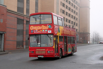 Glasgow Citybus P480MBY Nth Hanover St Glas Jan 11