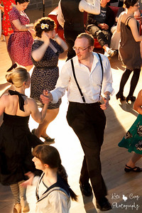 Swing Dancers, Edinburgh