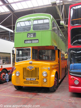 SGD 448 Leyland Titan PD3/2 1961 Glasgow Corporation (L446)