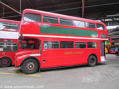 CUV 121C AEC Routemaster	1965 London Transport (RM2121)