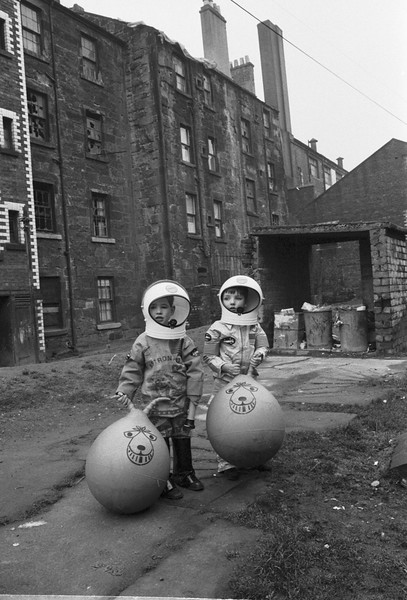 Glasgow astronaut boys