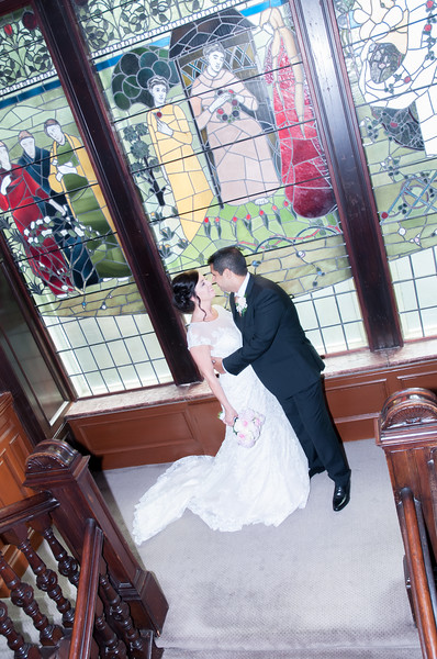 1 Devonshire Gardens Wedding Photo
