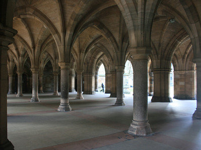 Gilbert Scott Building, Glasgow University.
