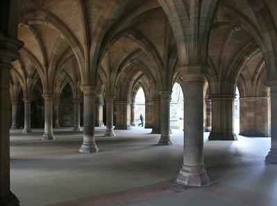 Gilbert Scott Building, Glasgow University.