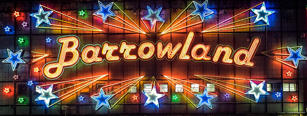 The famous Barrowland sign