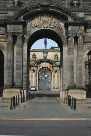 Arches, Glasgow City Chambers.