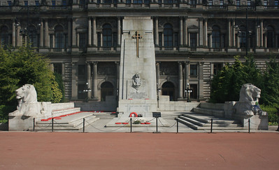Cenotaph, George Square.