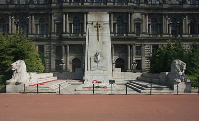 Cenotaph, George Square.