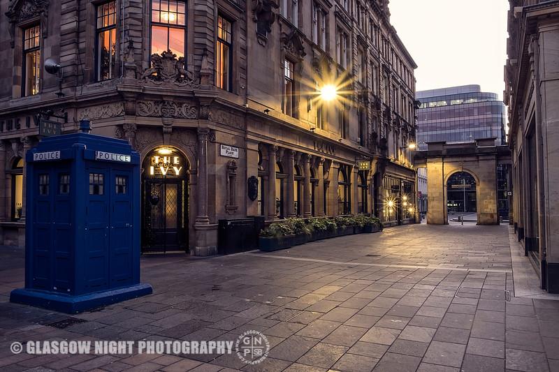 Buchanan Street looking into Royal Exchange Square