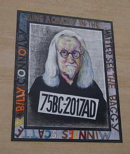 Sir Billy Connolly mural, Osborne St.