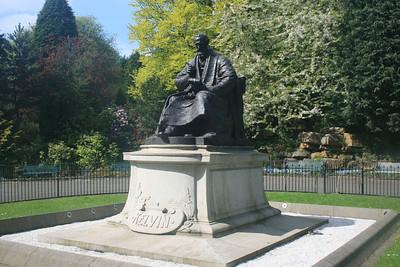 Lord Kelvin, Kelvingrove park.