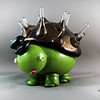 "Kritters:  Have a crazy idea for an animal you want to see in glass? The Kritters are some of the funnest design projects i do, taking two (or more!) animals and combining them to form something completely unique.   Pictured: Porcupine + Tortoise = Porkutort <a href=""/Glass/Kritters/"">   <span class=""myEmail"">Click here to see other Kritters that I have made</span></a>"