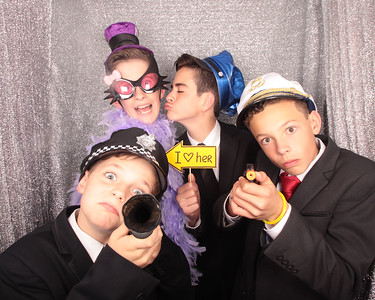 Glass Slipper Teens Ball Photobooth Photos
