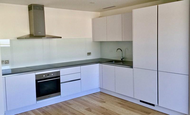 Kitchen Glass Splashback - Shoreditch E1