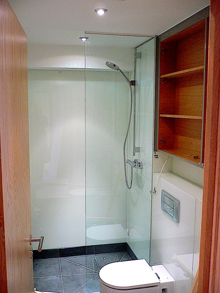 Backpainted Glass, Shower Screen & Mirrors  (Shower Room) - E1