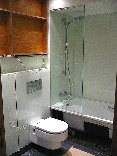 Back Painted Glass, Mirrors & Shower screen (Bathroom) - E1
