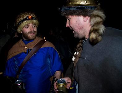 Alli og Góli glæsilegir að vanda.