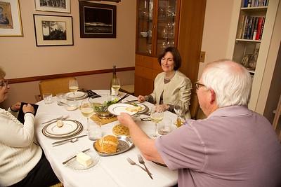 Glen & Claudette Dinner