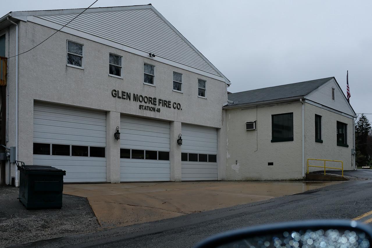Firehouse,mtg. room,  admin office for Equine vet