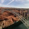 Hwy 89 bridge ... a stones throw from the Glen Canyon Dam.