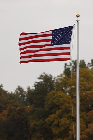 Flag at High School