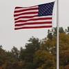 Flag at High School