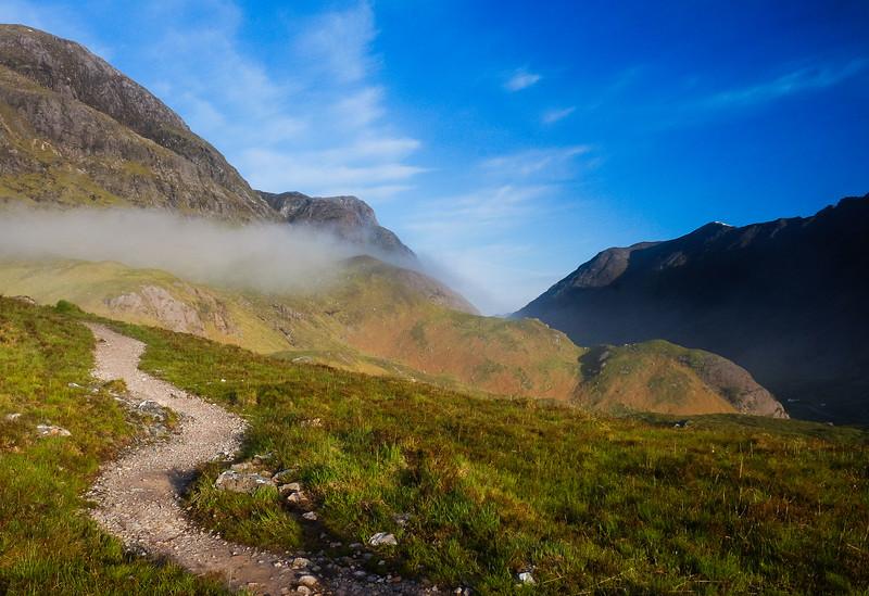 Path in Glencoe