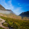 Path in Glencoe