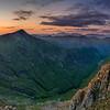 Sunset, Glencoe, Scotland.