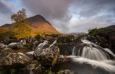 Etive mor waterfall