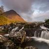 Etive mor waterfall
