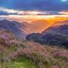 sunrise into Glencoe