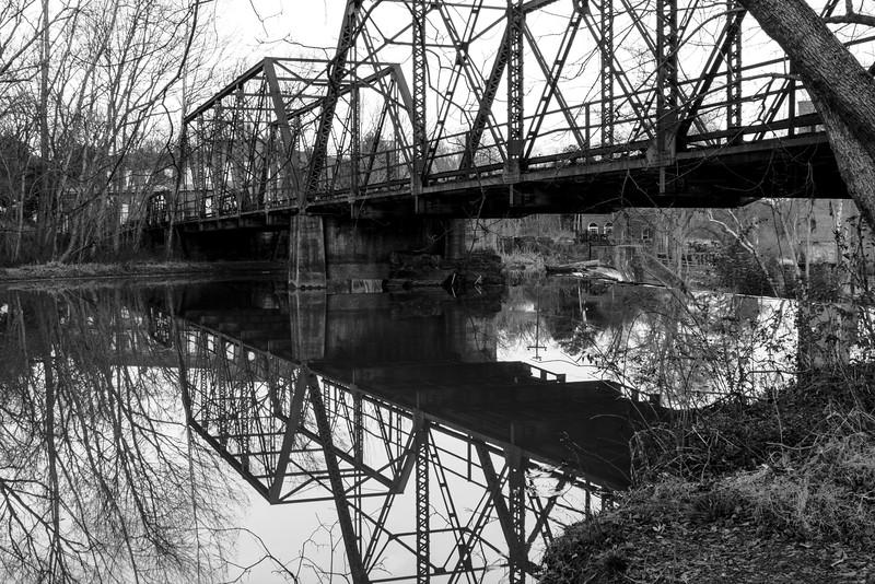 Glendale Shoals Reflection