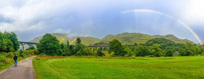 Glenfinnan Viaduct Rainbows