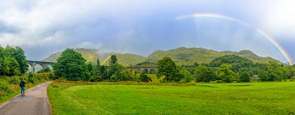 Glenfinnan Viaduct Rainbows