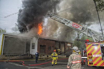2 Alarm Building Fire - 186 Peabody St, West Haven, CT - 5/12/18