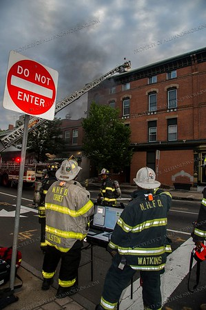 07/19/19 2nd alarm commercial building fire, 7-9 Elm St., New Haven, CT