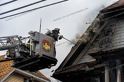 2 Alarm Dwelling Fire - 64-66 Garfield Ave, Bridgeport, CT - 2/03/19