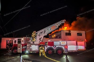 2 Alarm Commercial Building Fire - West Haven, CT  - 2/17/19